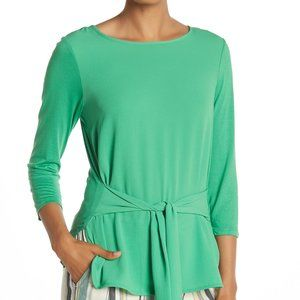 🆕️VINCE CAMUTO Tie Front 3/4 Sleeve Top🆕️